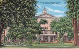 State School For The Blind Janesville Wisconsin 1945 - Janesville