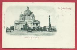 Russian / Russie - St. Pétersbourg - Cathédrale De La Trinité ( See Always Reverse ) - Russie