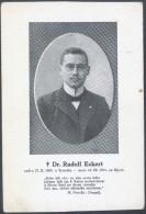 Dr. Rudolf Eckert Old Unused Postcard Bb - Ecrivains