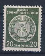 DDR Dienst Gruppe A Michel No. 28 ** postfrisch Fingerspur