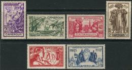 Cameroun 1937. Michel #116/21  MNH(**)/Luxe  (Ts15) - 1937 Exposition Internationale De Paris