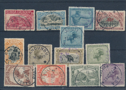 BELGIAN CONGO USED STAMPS SELECTION