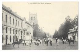 Cpa: 27 Env. D´EVREUX - LE BEC HELLOUIN - Dépot De Remonte (Militaire, Chevaux) - Francia