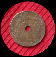 1 Centime Indochine 1920 A - Colonie