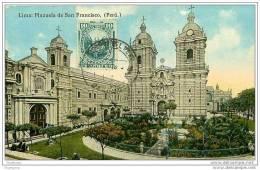 PEROU.LIMA PLAZUELA DE SAN FRANCISCO