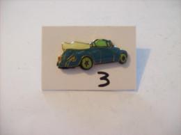 PIN´S - COCCINELLE - Vw Vert Decapottable     (3) Voir Photo - Volkswagen