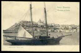Cpa  D´ Italie Porto Maurizio Via Genova    SEPT3 - Imperia
