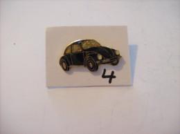 PIN´S - COCCINELLE - Vw Noir    (4) Voir Photo - Volkswagen