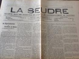 1914 Journal LA SEUDRE - ILE D�OLERON - SAINT GEORGES - LE CH�TEAU - SAINT DENIS - SAINTES  - TERRITOIRE DE BELFORT