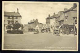 Cpa  Angleterre Cheschire -- Old Market Place , Altrincham    SEPT3 - Non Classés