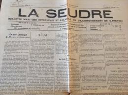 1914 Journal LA SEUDRE - SAINTES - SAINT GEORGES DE DIDONNE - LE CH�TEAU - ROYAN - VOIR