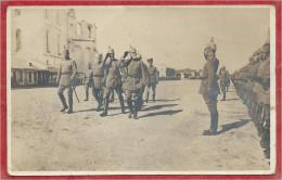 Carte Photo Militaire Allemande - Roi LEOPOLD Von BAYERN - Revue Des Troupes - à Localiser - Guerre 14/18 - Guerra 1914-18