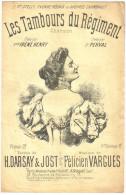 """Partition Ancienne   """"Les Tambours Du Régiment"""" Irène Henry  Illustrée Par C.Lavigne - Partitions Musicales Anciennes"""