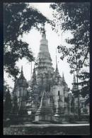 Cpa Souvenirs D´ Indochine -- Cambodge - Phnom-Penh  - Les Tours De La Pagode De Phnom-Penh      SEPT3 - Cambodia