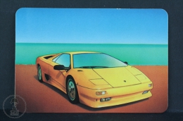 1997 Small/ Pocket Calendar - Lamborghini Diablo - Calendriers