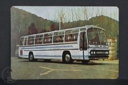 1997 Small/ Pocket Calendar - Vintage Transport Bus - Tamaño Pequeño : 1971-80