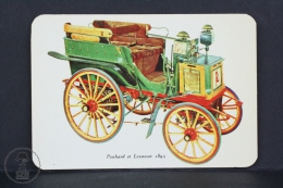 1977 Small/ Pocket Calendar - Panhard Et Levassor 1895 - Calendarios