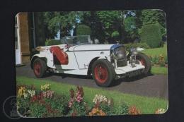 1980 Small/ Pocket Calendar - Old Convertible 1920´s Convertible Luxury Car - Calendarios