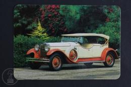 1993 Small/ Pocket Calendar - Old 1930´s Covertible Car - Calendarios