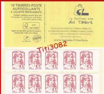 2013 - Marianne Et La Jeunesse De Ciappa Et Kawena - Boutique Web - Y&T N° 851-C4 - NEUF** - Carnets