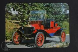1989 Small/ Pocket Calendar - Old Classic Car - 1900´s Convertible Ford - Tamaño Pequeño : 1981-90