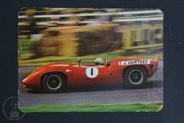 1973 Small/ Pocket Calendar - John Surtees Lola T70 - Calendarios