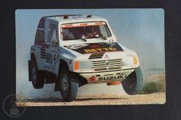 1991 Small/ Pocket Calendar - Rallie Dakar Team Suzuki Cepsa - Calendarios