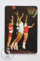 1993 Small Pocket Calendar - Women´s Basketball - Calendarios