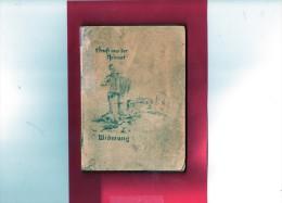 Petit Livre De 15 Sur 10 Cm Avec 27 Pages (( Vieilles Chansons Militaires Allemandes ) (Couverture Endommagée) - Livres, Revues & Catalogues