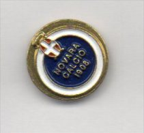 Pq1 F.B.A. Novara Calcio Distintivi FootBall Soccer Pin Spilla Pins Novi Piemonte Italy - Calcio