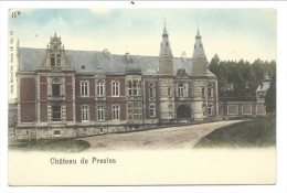 CPA - Château De PRESLES - Nels  Série 18  N° 12  // - Aiseau-Presles