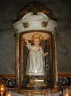 """SANTO BAMBINO Di S.GAETANO Da Thiene/statua Basilica """"S.Andrea Della Valle"""" Chierici Regolari Teatini ROMA - Fotografia - Religion & Esotérisme"""