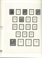 Berlin Safe 2014 / 2414 Vordruckblätter 1949 - 1979 Gebraucht Ohne Marken - Alben & Binder