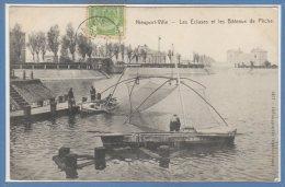 BELGIQUE -- NIEUPORT VILLE -- Les Ecluses Et.... - Nieuwpoort