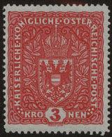 Austria Scott #165, 1917, Hinged