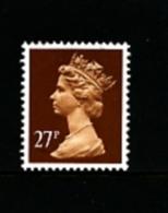 GREAT BRITAIN - 1988  MACHIN  27p. PCP  MINT NH  SG X973 - Machins