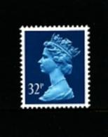 GREAT BRITAIN - 1988  MACHIN  32p. PCP  MINT NH  SG X983 - 1952-.... (Elisabetta II)