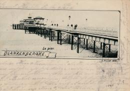 AK BLANKENBERGHE  - Le Pier- - Karte Gel. 1897 - Blankenberge