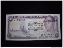 Gambia UNC,1,5,10,25 - Gambia