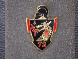 "Insignes Militaire ""72e RG MOURMELON "" Military Badges ""ENGINEER REGIMENT "" - RARE - Armée De Terre"