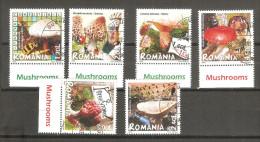 Serie Nº 5271/76 Rumania - Pilze