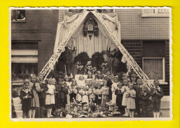 """ECHTE FOTO PHOTO-STUDIO DELABY Nieuwstraat 8 IZEGEM Processie Viering Heil Der Zieken Bid Voor Ons"""" Feest Heemkunde 1927 - Izegem"""