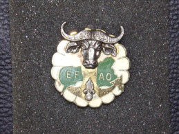 "Insignes Militaire ""EFAO - BOUAR"" -  Military Badges - RARE - Landmacht"