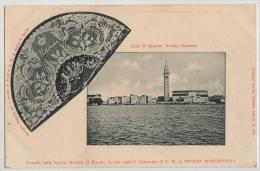 PC, LACE, VEDULA GENERALE,ISLOA DI BURANO,VENEZIA, C1910 - Venezia (Venedig)
