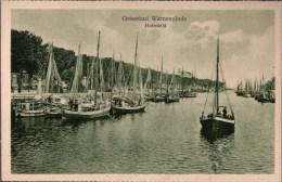 ! Alte Ansichtskarte Aus Warnemünde B. Rostock In Mecklenburg - Rostock