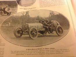 1906 SAINT MARS LA BRI�RE CONNERR� GP DE L� A.C.F COURSE AUTOMOBILE - PONT DE G�NES - LE TOUR DE FRANCE CYCLISTE