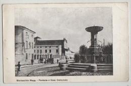 PC, FONTANA E CASA COMUNALE, MONTECCHIO MAGGIORE, VICENZA - Vicenza