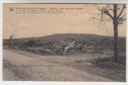 Ruines Des Environs De Kemmel, 1914-18, Le Carrefour Du Pompier. Au Fond, Le Mont Kemmel (pk22797) - Heuvelland