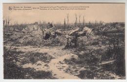 Ruines Des Environs De Kemmel, 1914-18 Vestiges De La Grand Place (Maison Communal Et Brasserie) (pk22800) - Heuvelland
