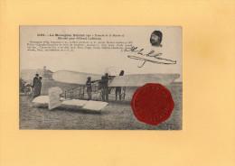 """Le Monoplan Blériot (Type """"Traversée De La Manche"""") Monté Par Alfred LEBLANC - Aviateurs"""